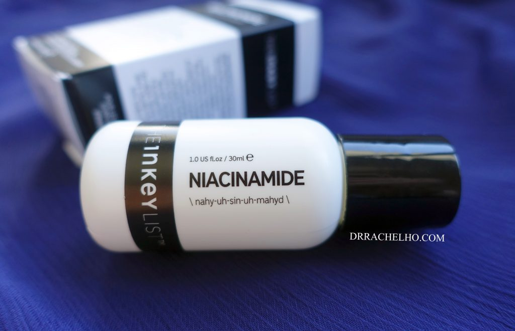 the inkey list niacinamide serum review