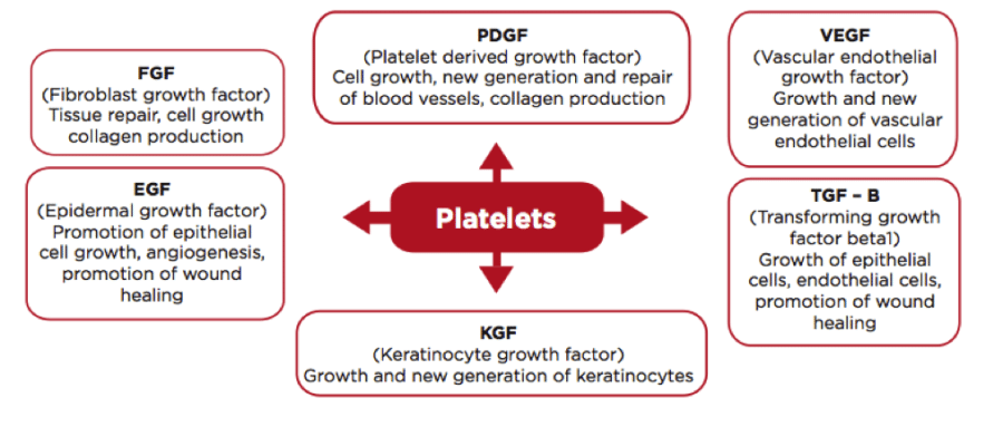 growth factors in prp